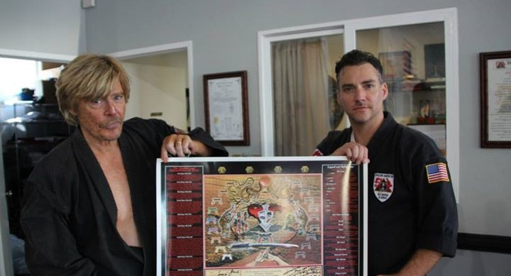 Tatum and Donnie with Certificate