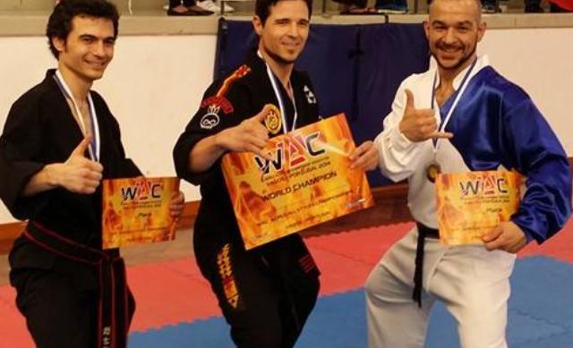 Sensei Lucas wins at WAC